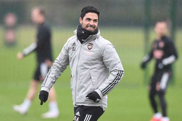 Arteta has received positive updates on Saka and Martinelli