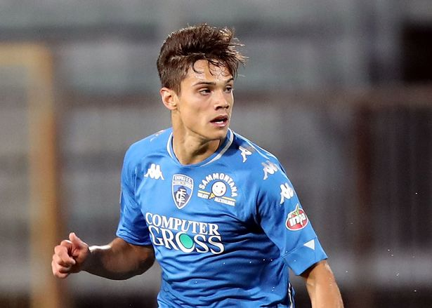 Empoli midfielder Samuele Ricci is reportedly on Arsenal's radar