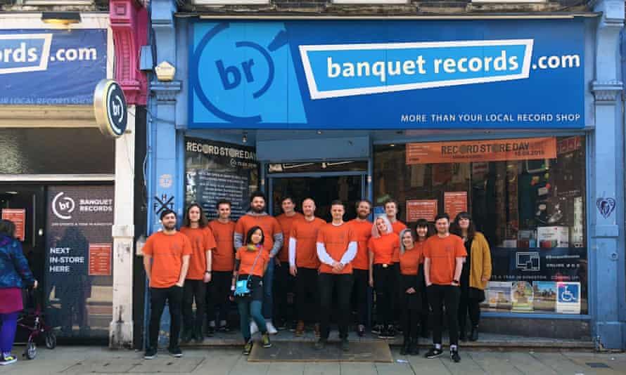 Banquet Records staff