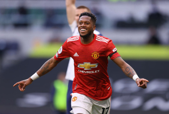 Fred popped up with a rare goal in United's victory over Tottenham