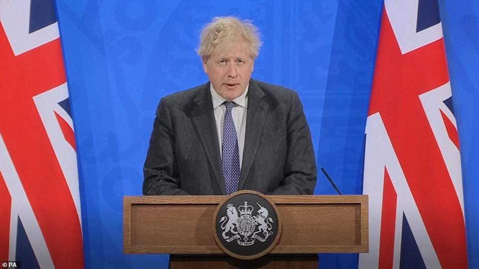 Prime Minister Boris Johnson announced the plan to develop at-home treatments at a Downing Street press conference tonight, when he said science is helping the UK get back to normal