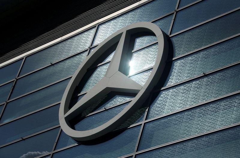 Daimler raises outlook, says chip shortage may impact Q2 sales