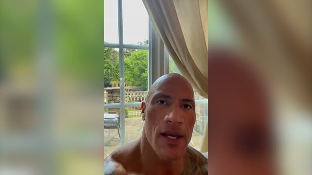 The Rock encourages Ashley Cain to stay strong in heartfelt message