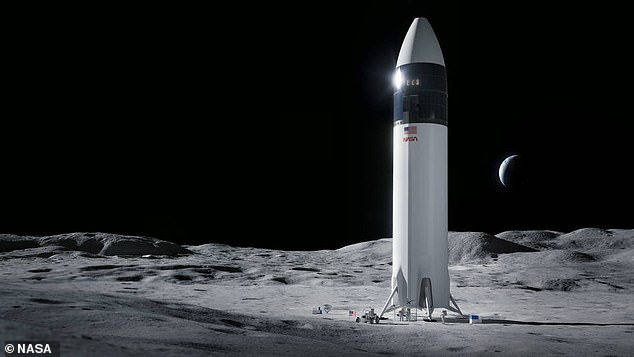 NASA has chosen Elon Musk 's SpaceX to build the spacecraft that take the first woman and next man to the moon.SpaceX's HLS Starship will include the company's tested Raptor engines, along with pulling inspiration from the Falcon and Dragon vehicles' designs