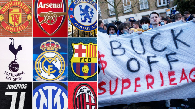European Super League officially paused following departure of Premier League clubs
