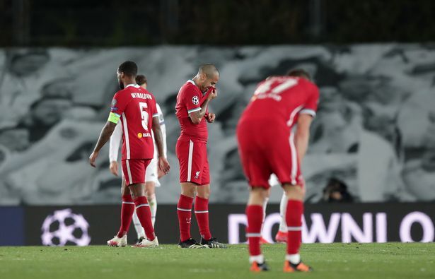 Liverpool fell to a 3-1 defeat in the first leg against Real Madrid