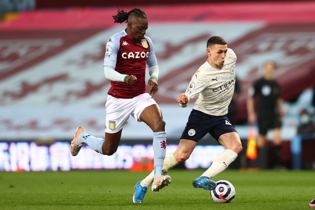 Phil Foden was mesmerising once again against Aston Villa