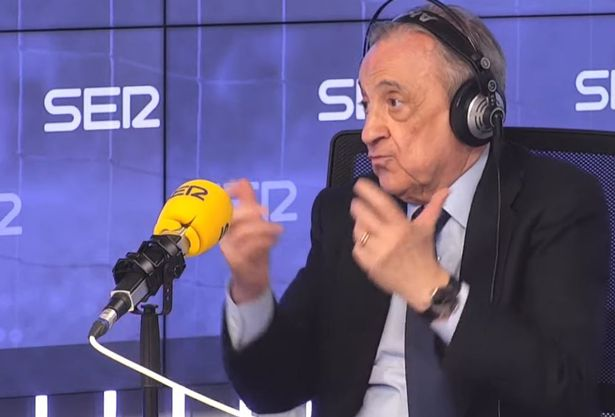 Florentino Perez speaking on the radio this week