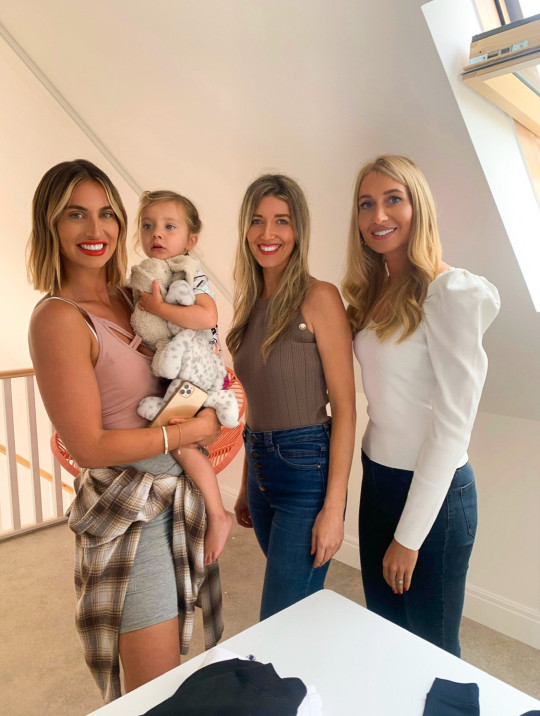 Laura and Laura with Ferne McCann