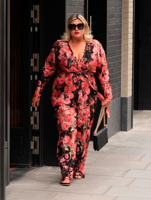 Gemma Collins looked super chic on her first outing since lockdown rules relaxed