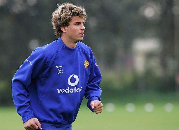 Pique played 23 times in all competitions for Man Utd, before rejoining Barcelona in 2008
