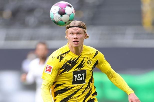 Erling Haaland has been linked with several clubs