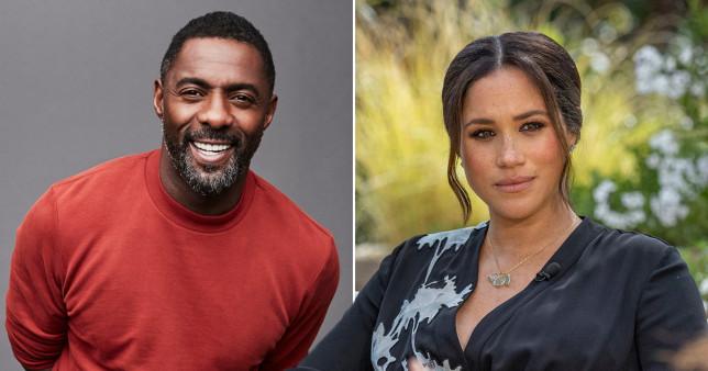 Idris Elba and Meghan Markle