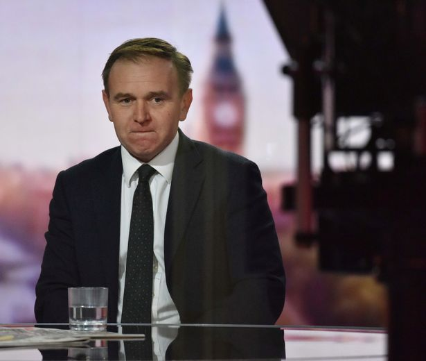 George Eustice denied it was anything to do with the trade deal