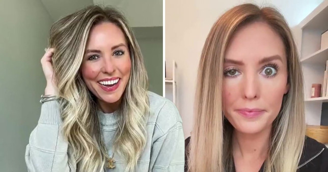 Influencer shows how Botox can go wrong Tik Tok|something.whitty Whitney Buha