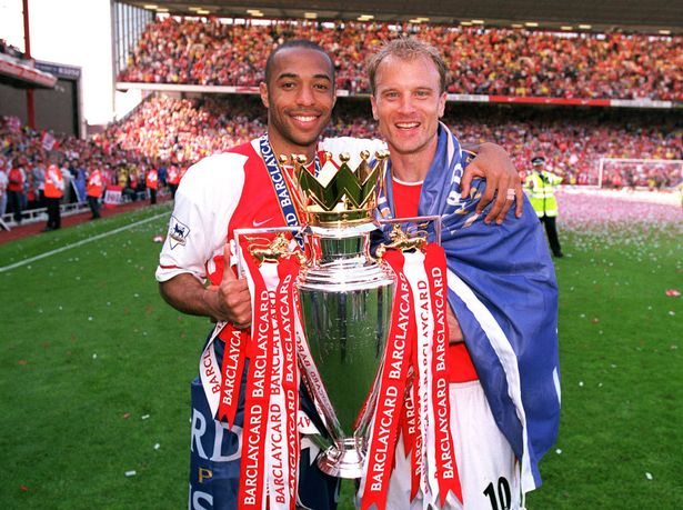 Thierry Henry and Dennis Bergkamp are supporting the Swede's bid