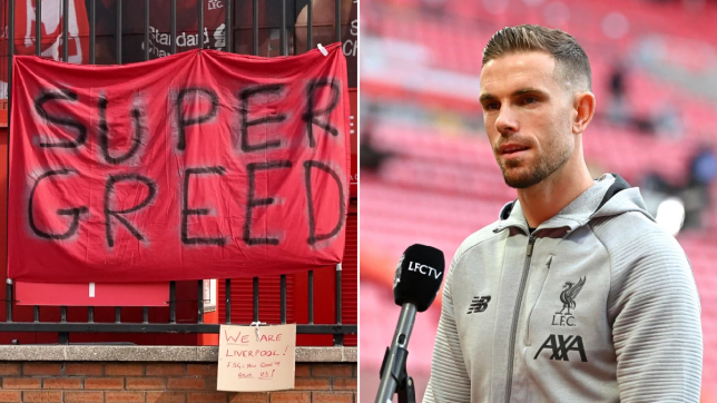 Liverpool players release joint statement condemning the European Super League
