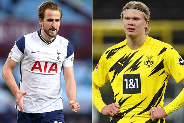 United have been linked with both Harry Kane and Erling Haaland