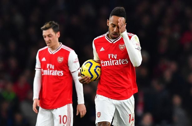 There are growing concerns over Aubameyang's career following a similar trajectory to Ozil's
