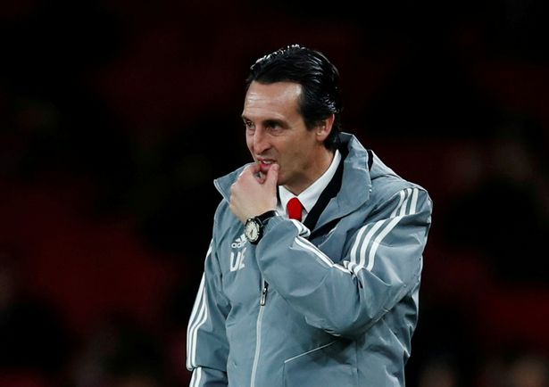 Unai Emery was axed after 18 months in charge