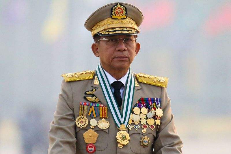 Myanmar junta chief to attend ASEAN summit on first foreign trip since coup