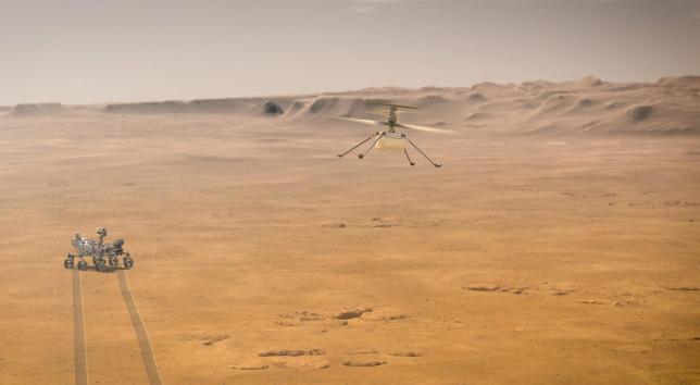 Mars Ingenuity Nasa