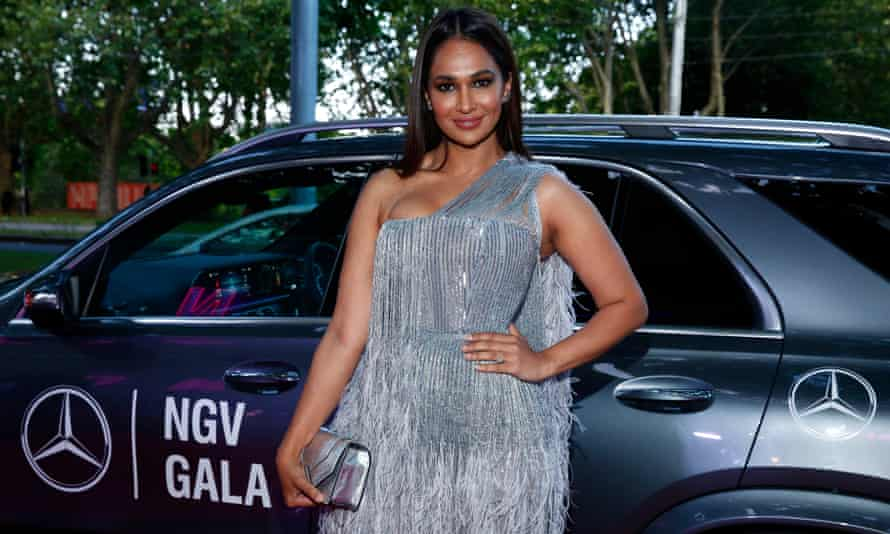 Sharon Johal attending the NGV Gala 2019 at the National Gallery of Victoria on 30 November 2019.