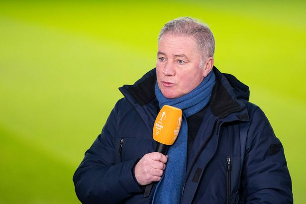 Former Rangers player & Manager Ally McCoist at Ibrox