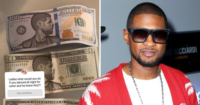 Usher did not tip with fake cash during night out at Las Vegas strip club