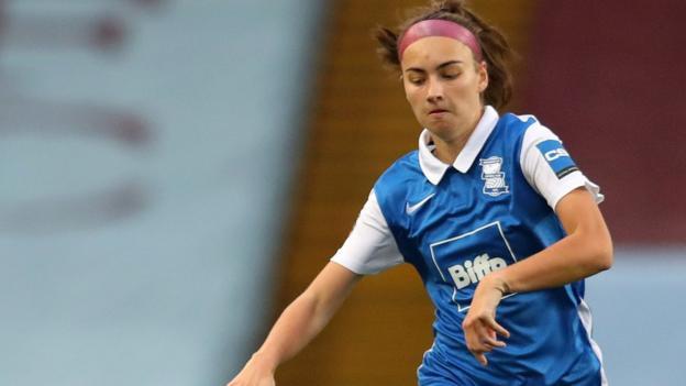 Chloe McCarron made 12 appearances for Birmingham City