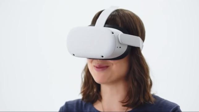 Oculus Quest 2 headset