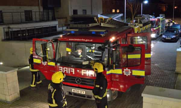 London Fire Brigade keeps detailed data on its response times.