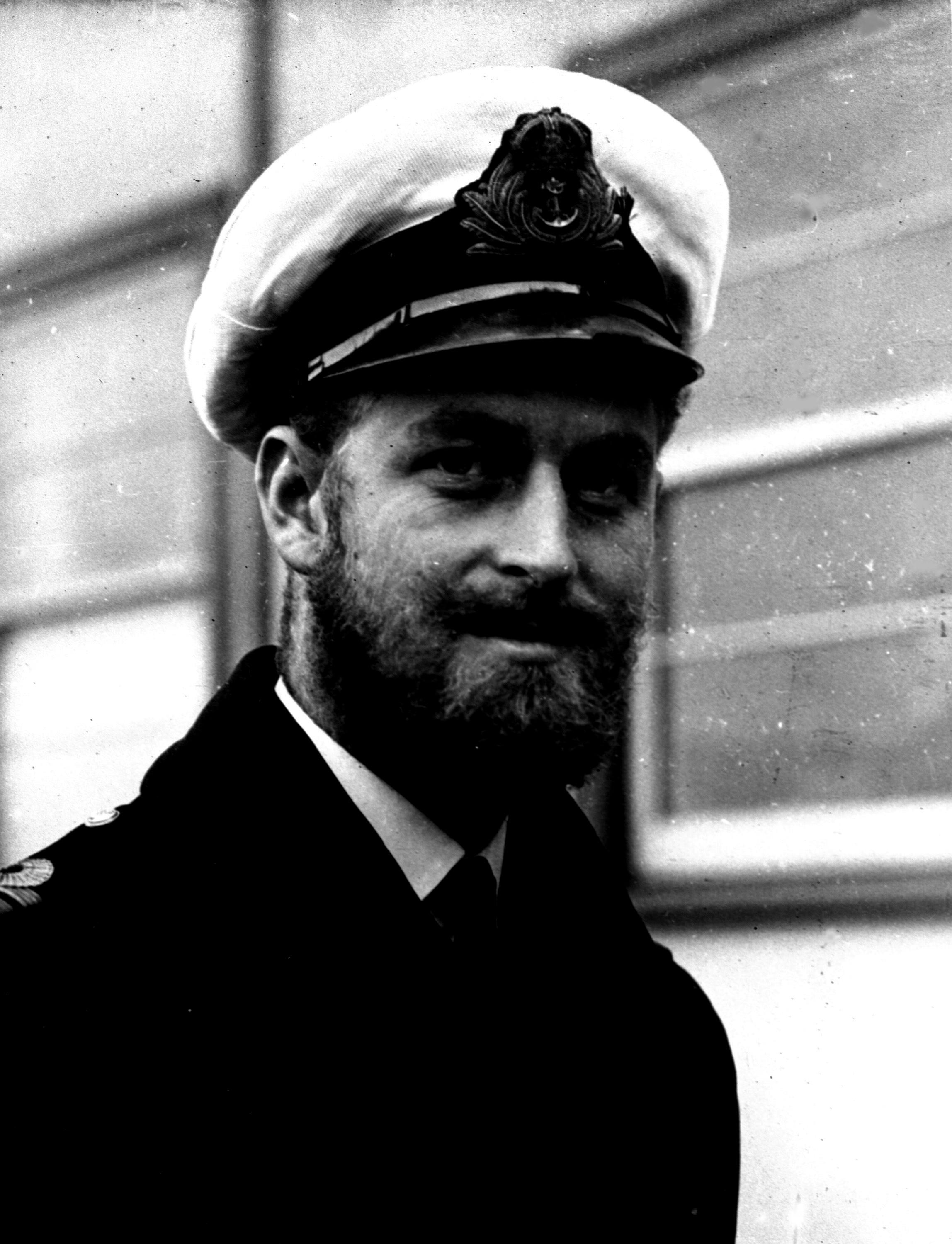 In this file photo dated August 29 1945, Prince Philip of Greece, now Britain's Duke of Edinburgh, during a naval visit to Melbourne, Australia