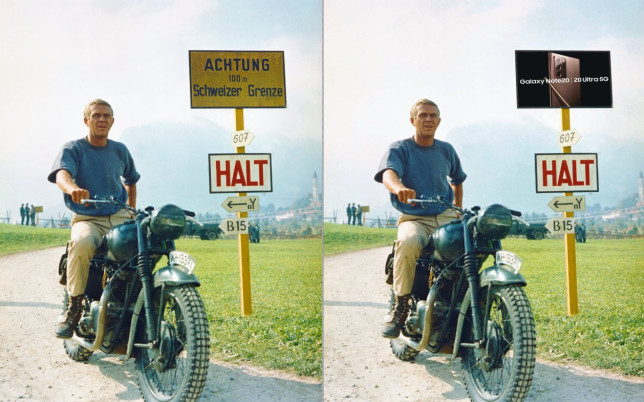 Classics like the Great Escape could be retrofitted with ads (Photo: MailOnline)