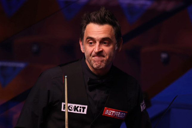 O'Sullivan is out at the second round