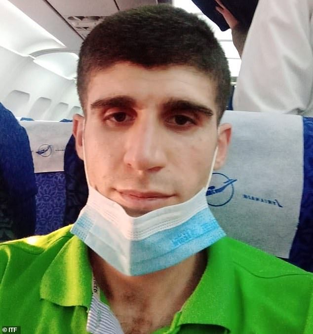 Aisha flew out of Cairo on Friday, describing his elation on the tarmac at the airport, he said: 'How do I feel? Like I finally got out of prison. I'm finally going to be rejoined with my family. I'm going to see them again'