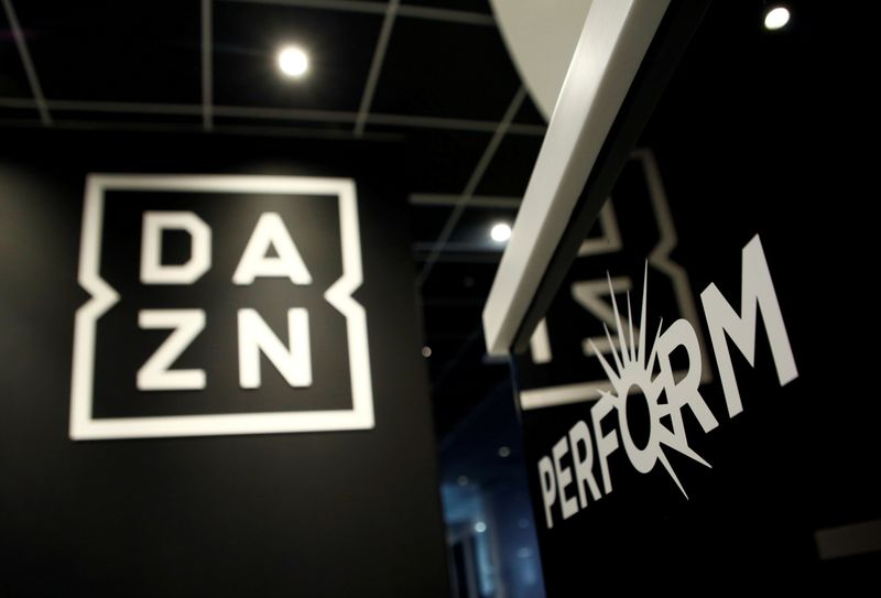 Soccer-DAZN investigates into service failure after Serie A blackout