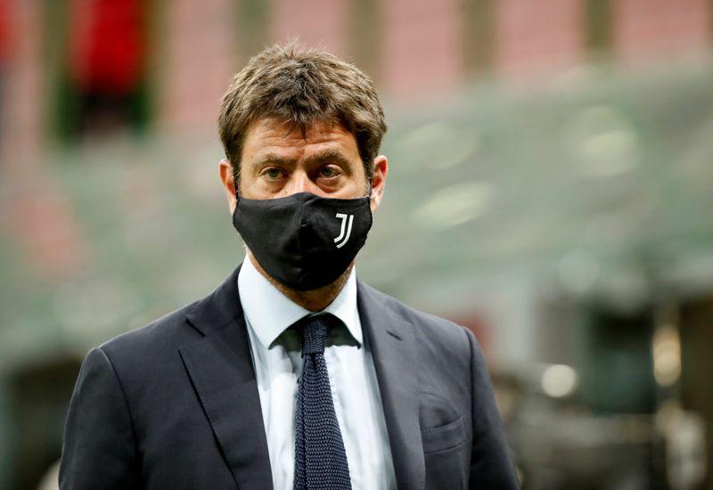 Soccer-Juventus President Agnelli says Super League going ahead - paper