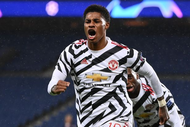 Marcus Rashford fired the Red Devils to victory at Parc des Princes in October