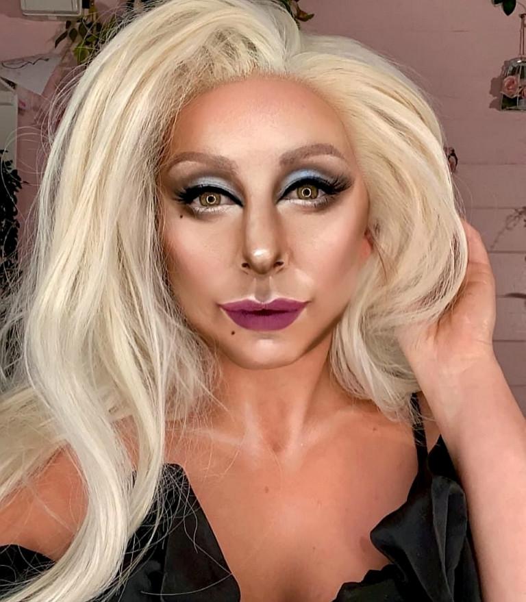 Liss Lacao as Lady Gaga lookalike