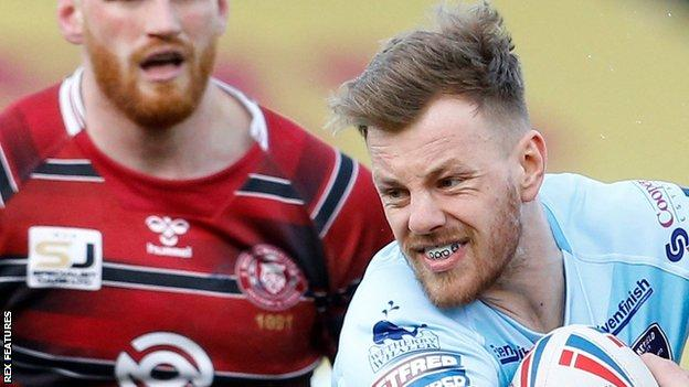 Tom Johnstone has scored two tries in two Super League games for Wakefield so far this season