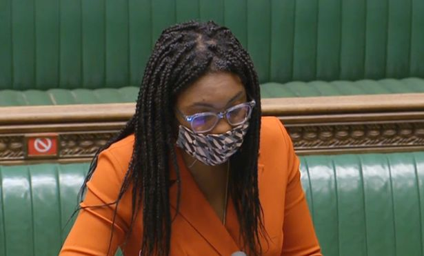 Equalities Minister Kemi Badenoch defended the report's authors from appalling abuse