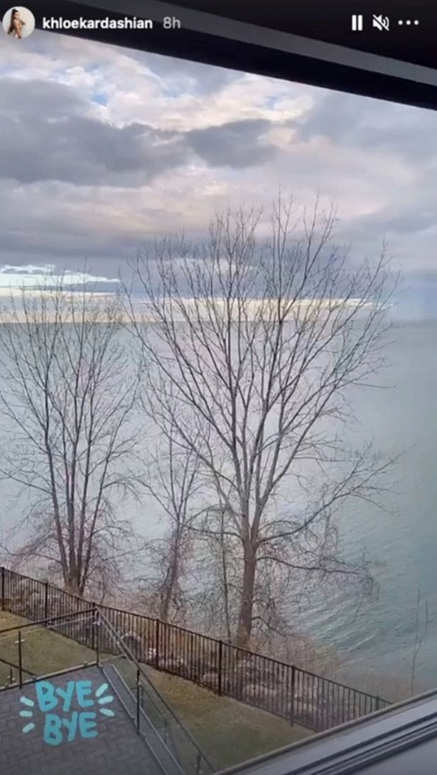 The property overlooked Lake Erie