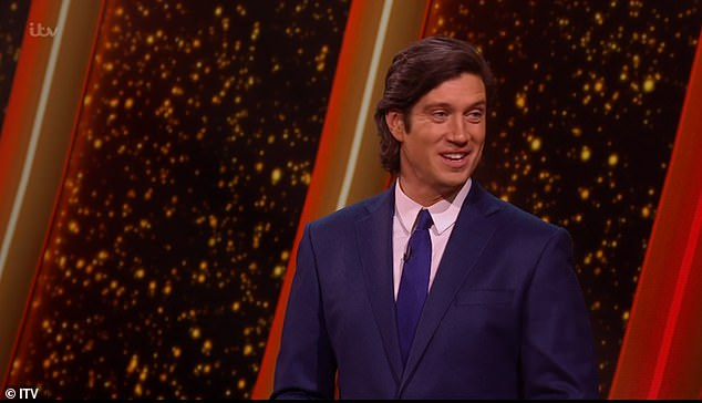 New show: Vernon Kay delighted fans as he hosted a I'm A Celebrity reunion on his current Game Of Talents series