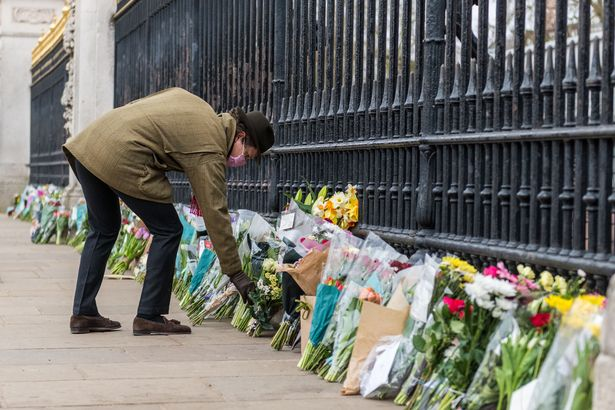 The public are being urged to sign an online book of condolence, rather than to turn up with flowers at palace or residence gates