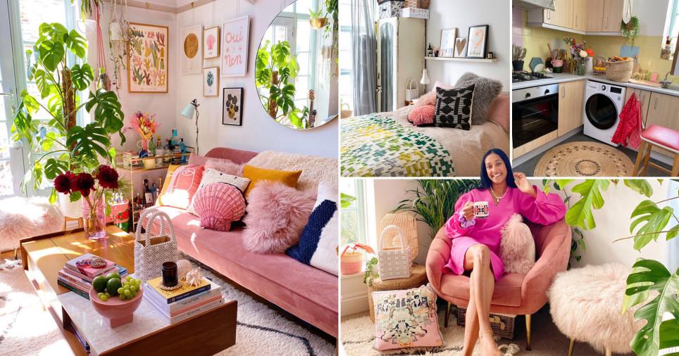 what i rent: zeena shah in her pink flat in east London, Hackney