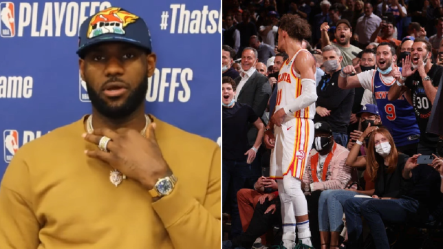 LeBron James reacts to Russell Westbrook, Trae Young and Ja Morant fan incidents