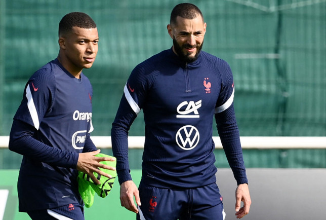 The duo have linked up for France ahead of the Euros