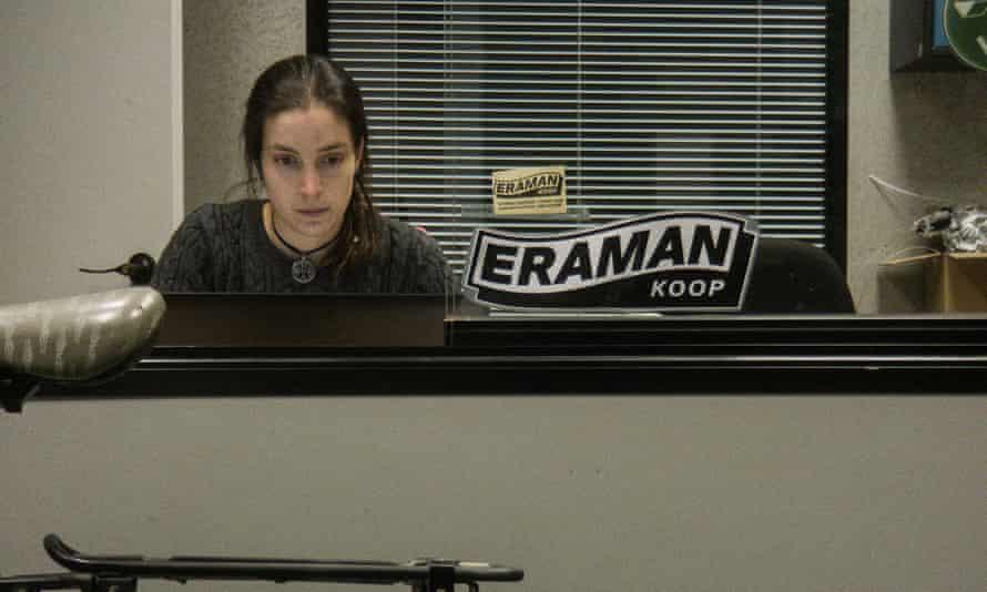 Cristina Gonzelez at work for Eraman