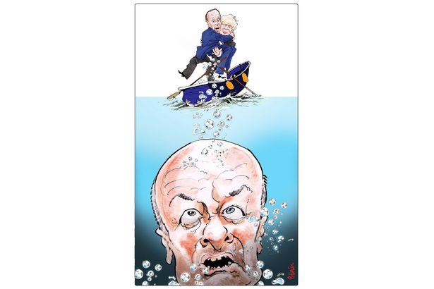 Dominic Cummings cartoon